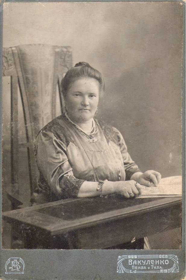 Каллистова Антонина Константиновна супруга священника Федора Степановича Каллистова